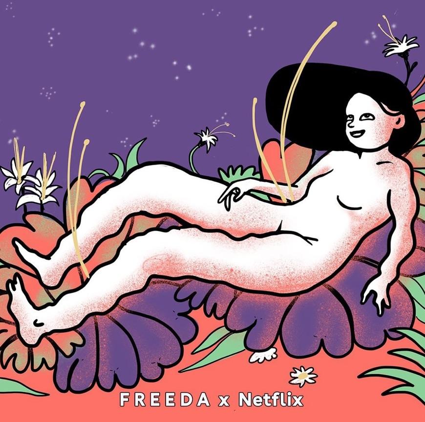 Freeda X Netflix