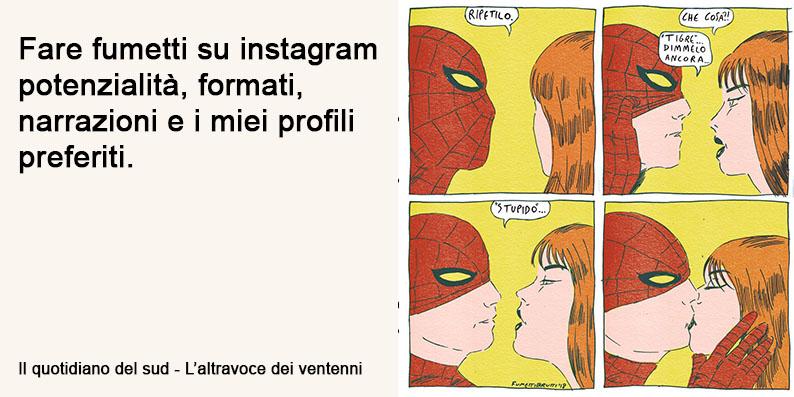 Fare fumetti su instagram, i miei fumettisti preferiti e i loro profili