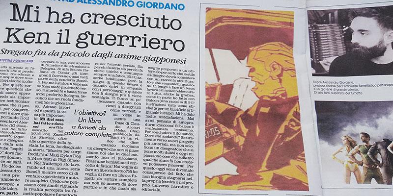 Intervista ad Alessandro Giordano (disegnatore Bonelli)